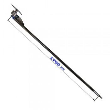 Консоль поворотная прямая н/ж 1700 мм (стандарт)
